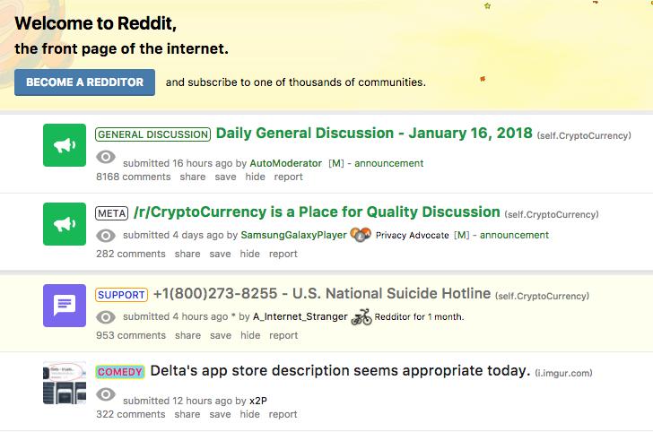 The Bitcoin community reacts to crash