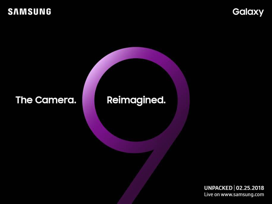 Samsung teases big camera updates with Galaxy S9 invites
