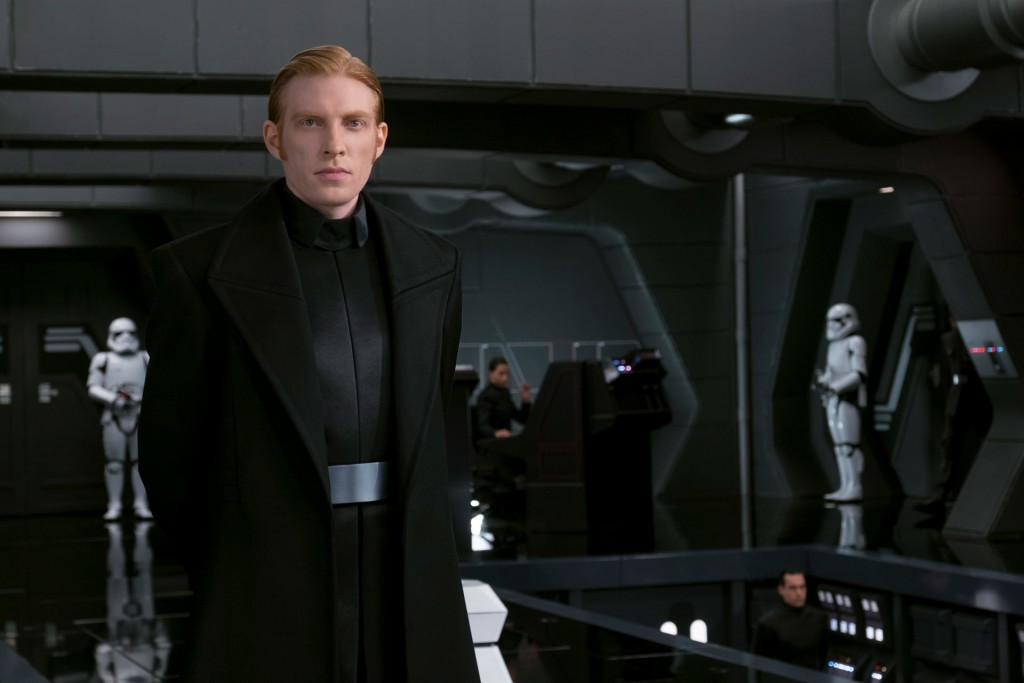 "General Hux is the main military commander of the First Order in ""Star Wars: The Last Jedi."" Credit: Lucasfilm 