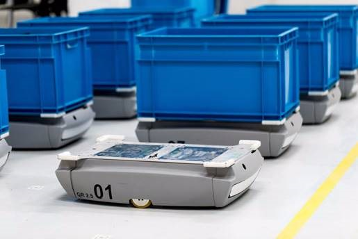 CommonSense Robotics envisions micro fulfillment centers that rely heavily upon robots to sort inventory and retrieve boxes filled with products. Credit: CommonSense Robotics