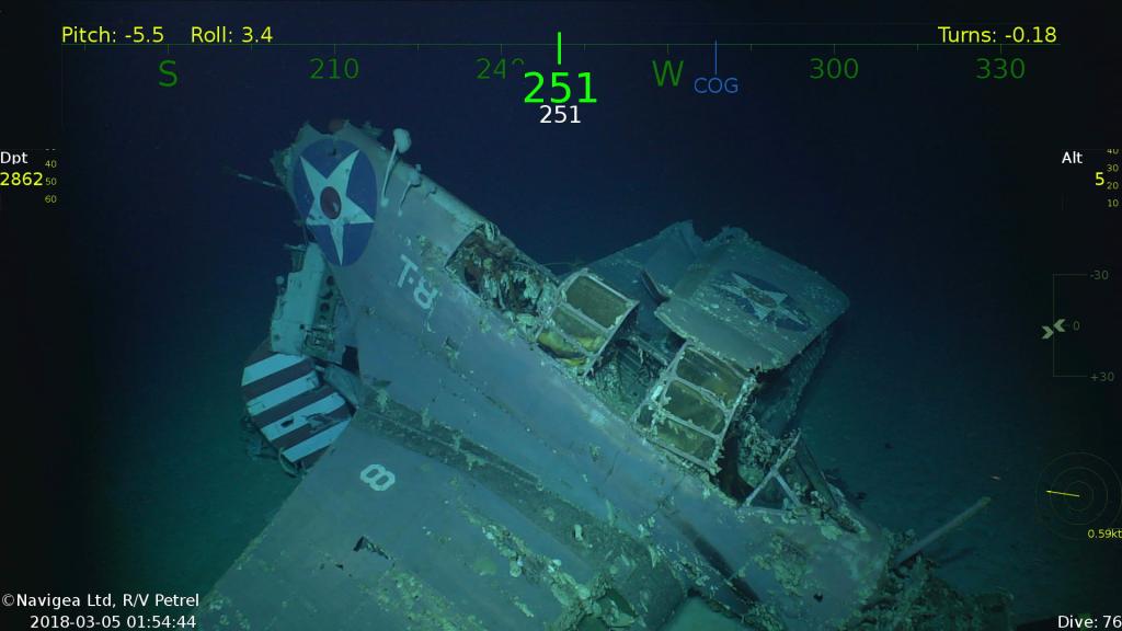 A Douglas TBD-1 Devastator torpedo bomber from the USS Lexington. Credit: Navigea Ltd.