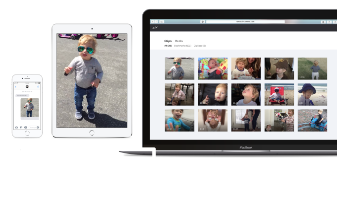 Air's app lets you record high-quality home movies without running out of space