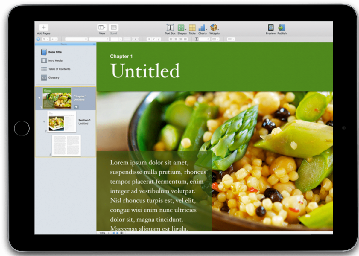 Apple doubles down on book creation with iPad app