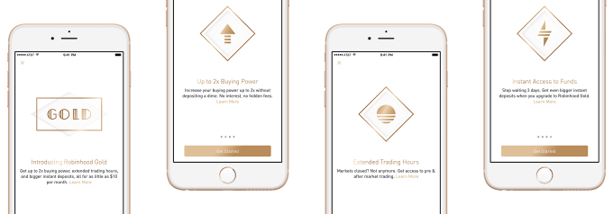 Stock trade app Robinhood raising at $5B+, up 4X in a year