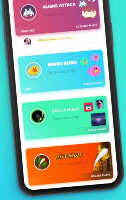 Tribe combines arcade games with group video chat