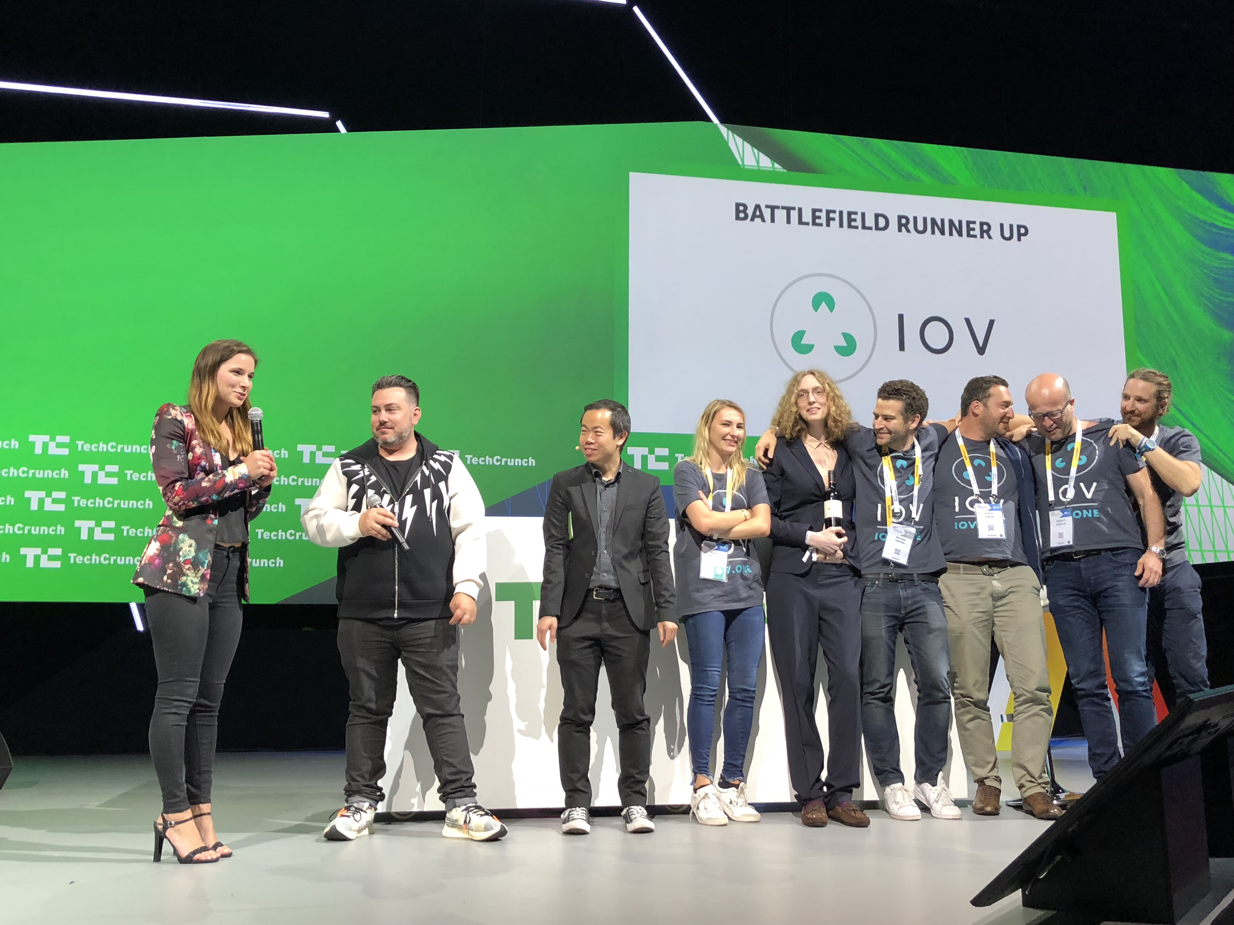 And the winner of Startup Battlefield Europe at VivaTech is… Wingly