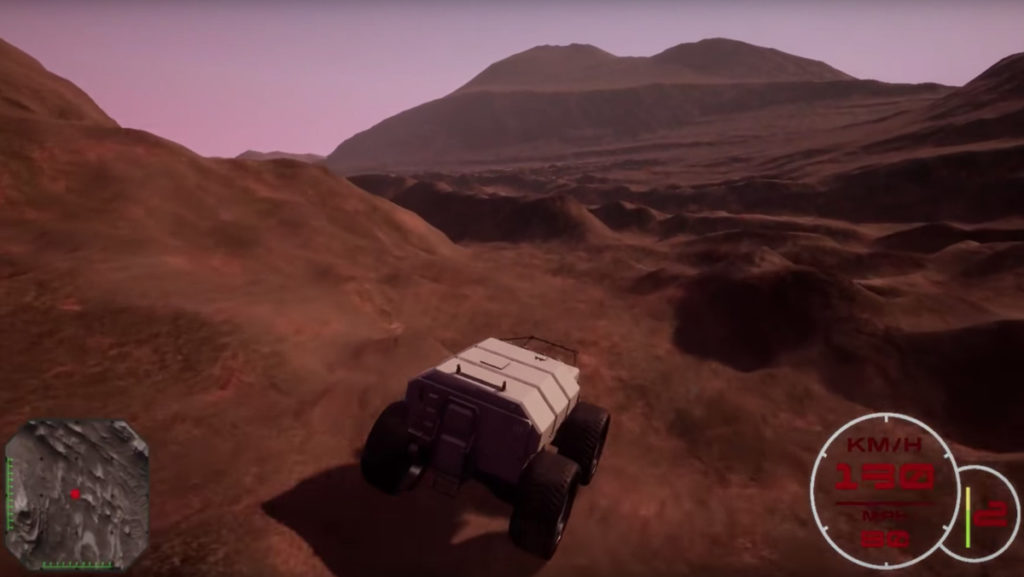This Video Game Lets You Explore Mars' Actual Surface