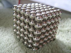 Neodymium magnets. (Credit: XRDoDRX)