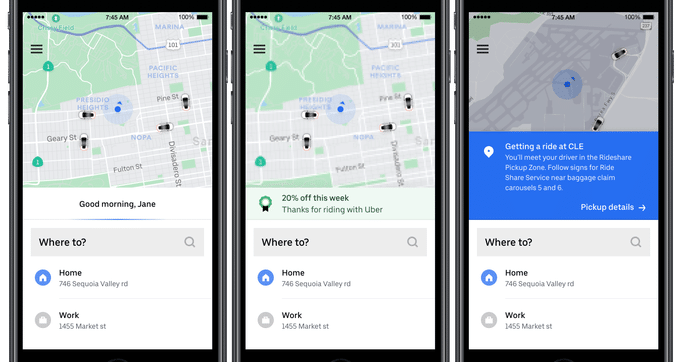 Embracing multimodality, Uber pioneers ride recommendations