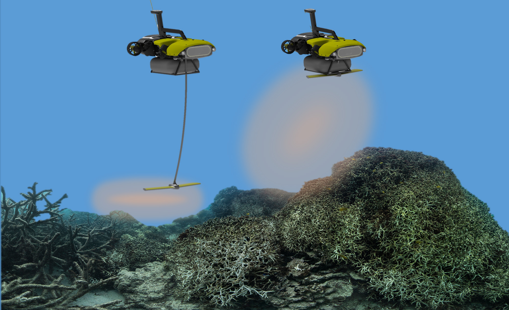 Reef-rejuvenating LarvalBot spreads coral babies by the millions