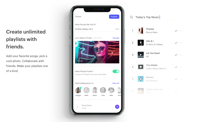 Social music app Playlist lets you listen to music with others in real time