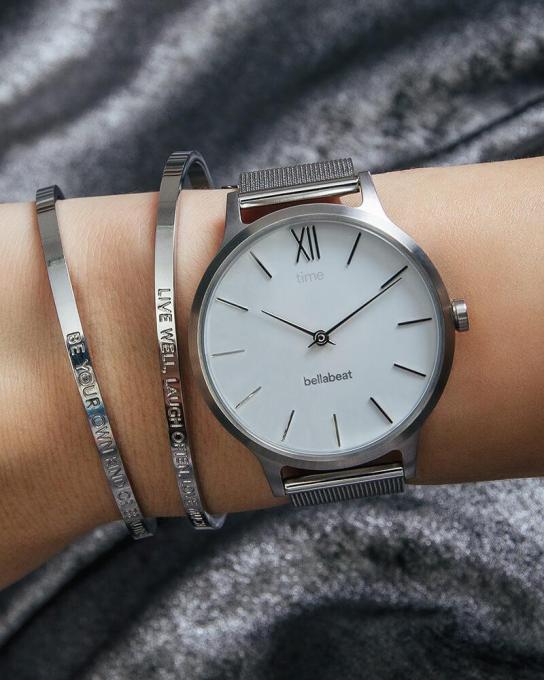 Bellabeat's new hybrid smartwatch tracks your stress…and goes with your outfit