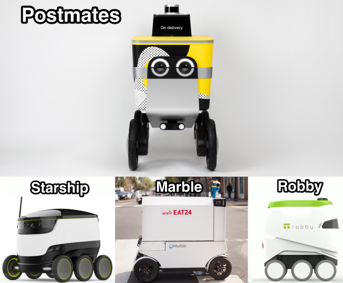 Postmates unveils Serve, a friendlier autonomous delivery robot