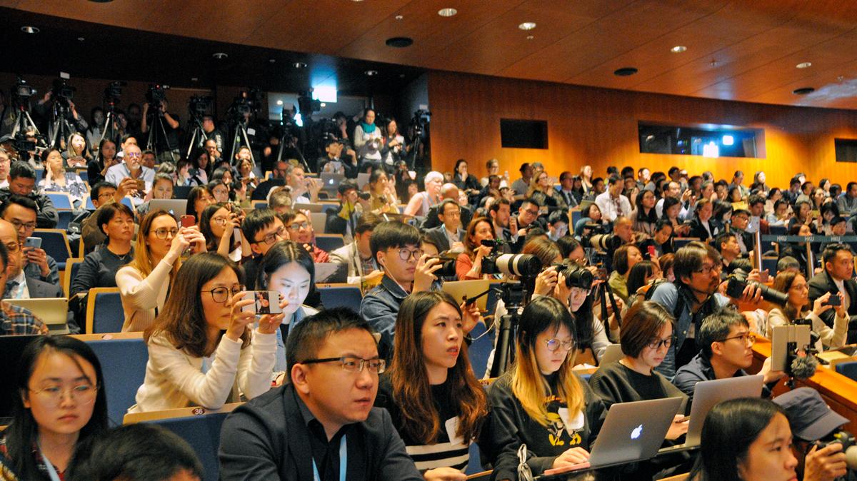 Crispr embryo talk at University of Hong Kong