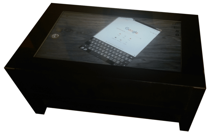 Touch screen tables just got better and cheaper