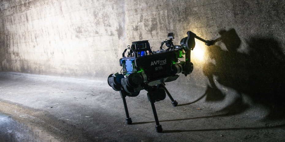 Watch the ANYmal quadrupedal robot go for an adventure in the sewers of Zurich