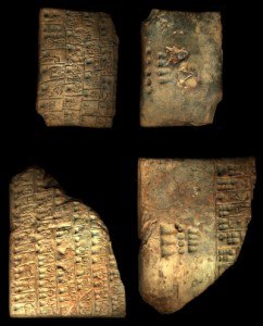 Examples of proto-cuneiform discovered at Uruk (Credit: http://cdli.ox.ac.uk/wiki/doku.php?id=proto-cuneiform)