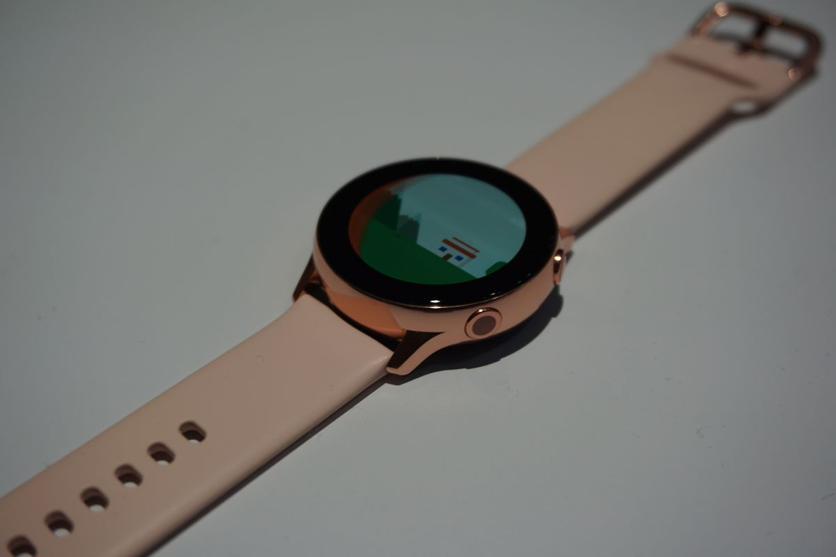 That rose gold.