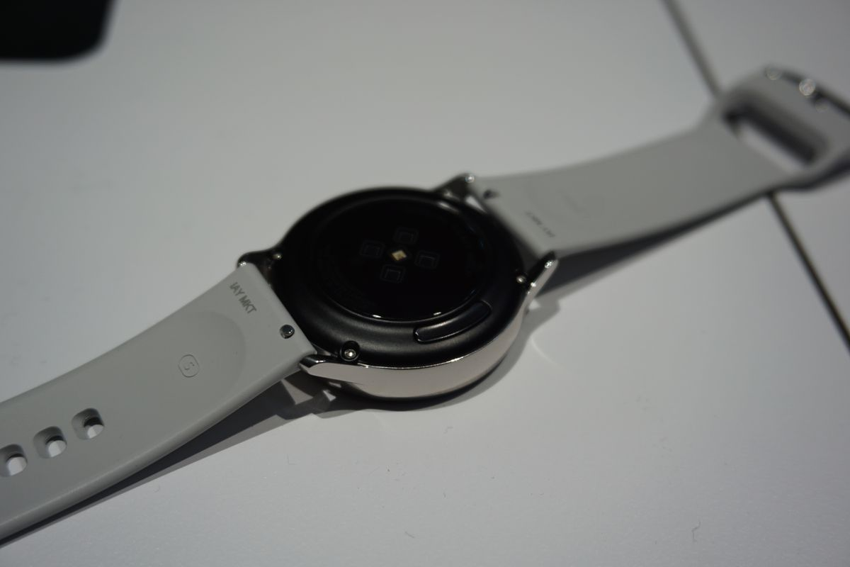 The back of the Galaxy Watch Active.