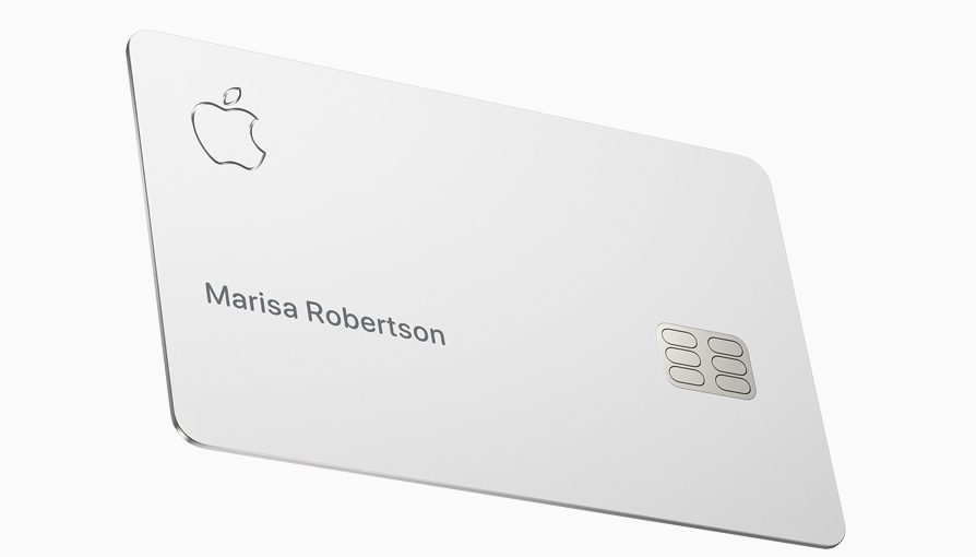 The physical Apple Card is made of titanium.