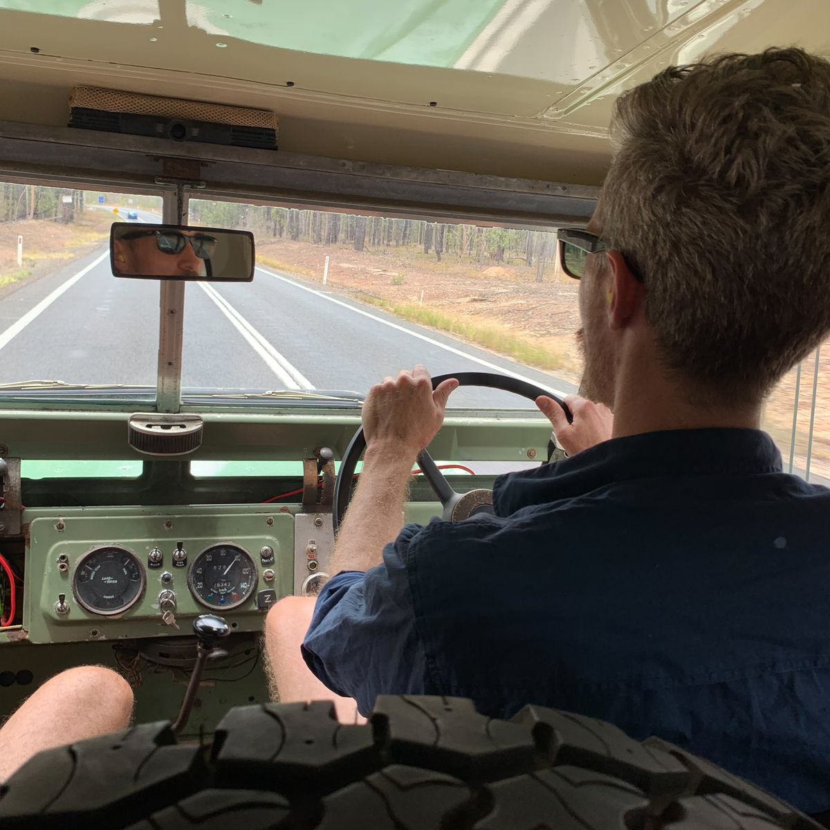 Rent the converted electric vehicle for an Australian road trip.