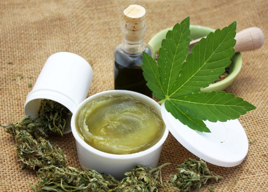 Depending on the medical condition, oils or lotions made from cannabis may be a better choice. (Credit: sangriana/Shutterstock.com)