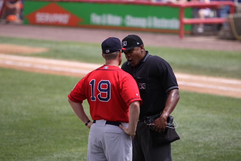 umpire and coach