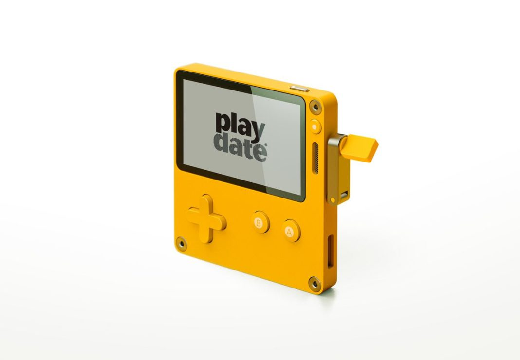 The Playdate is one very cute gaming console.