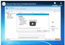 How to Recover Formatted Hard Drive with EaseUS software?