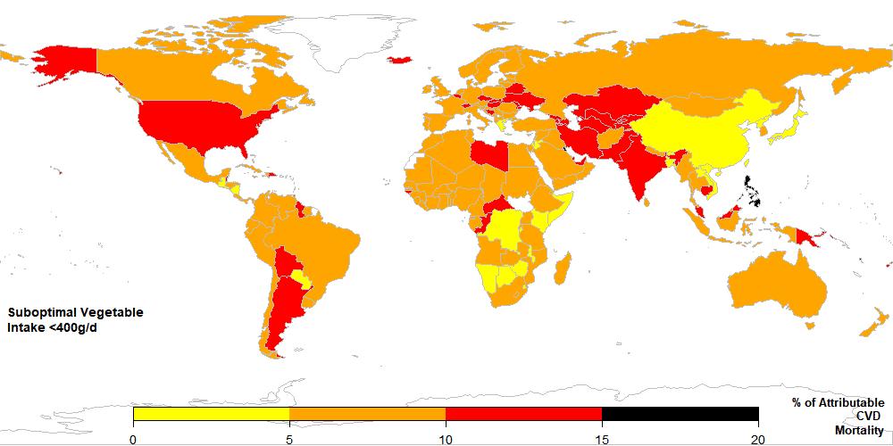 vegetable map