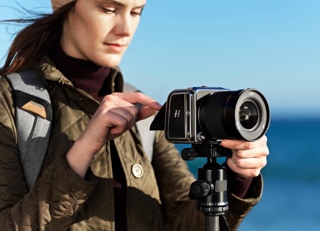 Hasselblad's new medium format camera is a tiny, beautiful nod to history