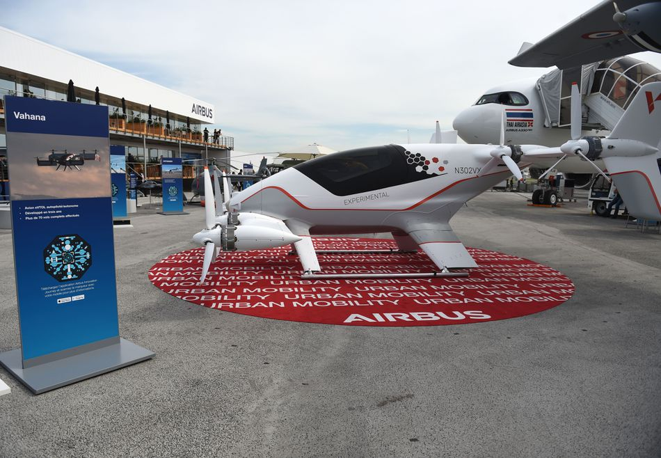 Airbus' all-electric, single-seat Vahana could be pilot-less.
