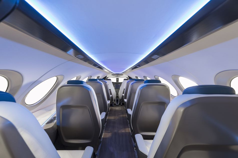 An inside look at the Alice electric plane.